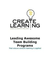How_to_lead_awesome_teambuilding_programs_by_michael_cardus