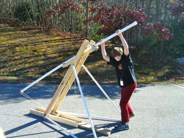 Build Water Balloon Trebuchet