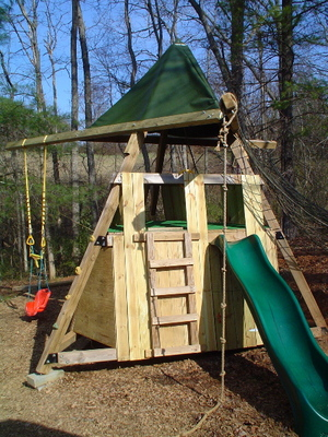 The Adventure Tower Is The Coolest Build It Yourself Backyard Play Structure  Ever.