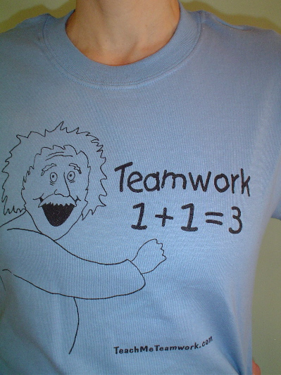 so come get the free version while you can. New Teamwork T-Shirt