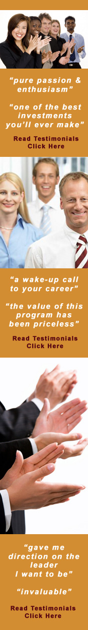 Manager as Coach Boot Camp Testimonials.  Click Here.